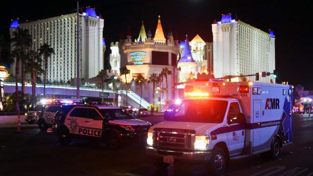 Shooters in Two Homicides Being Sought Near the Strip by The Las Vegas Police