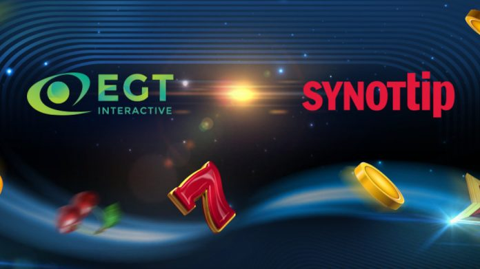 EGT Interactive Has Made Partnership with Synottip